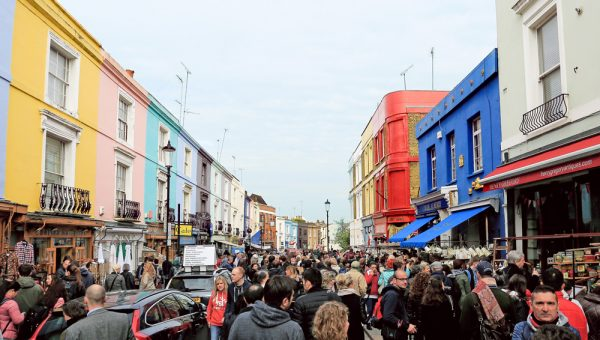 portobello market saturday overview